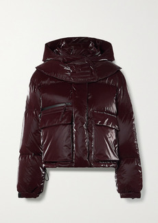 Helmut Lang Hooded Quilted Shell Down Jacket
