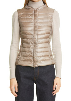 Women's Herno Fitted Water Resistant Down Puffer Vest