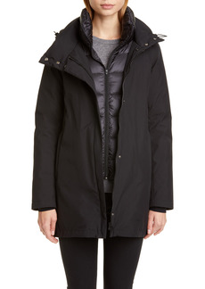 Women's Herno Gore-Tex Coat With Removable Down Bib