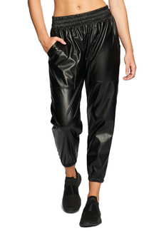 Heroine Sport Downtown Faux Leather Joggers