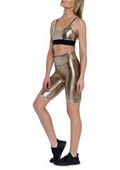 Heroine Sport Marvel Metallic Biker Shorts