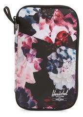 Herschel Supply Co. Floral Print Travel Wallet