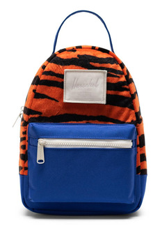 Herschel Supply Co. Mini Nova Fleece & Canvas Backpack - Orange