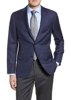 Men's Hickey Freeman Classic Fit Solid Wool Blazer