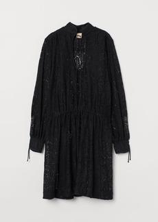 H&M H & M - A-line Tunic - Black