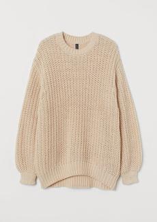H&M H & M - Chunky-knit Sweater - Beige