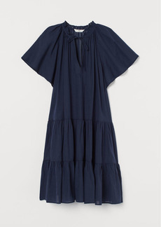 H&M H & M - Cotton-blend Tunic - Blue