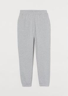 H&M H & M - Cotton Sweatpants - Gray