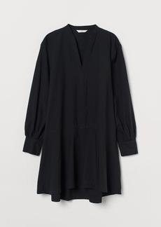 H&M H & M - Cotton Tunic - Black