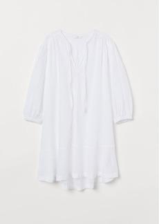 H&M H & M - Cotton Tunic - White