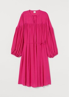 H&M H & M - Crinkled Tunic - Pink