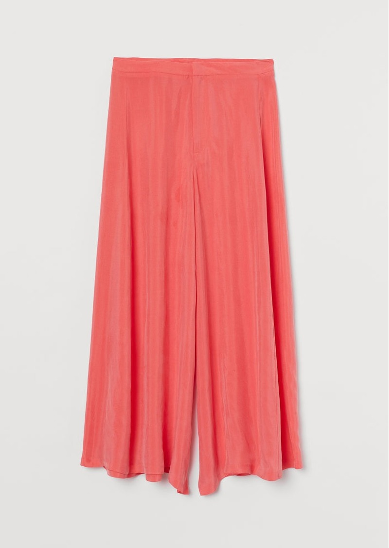 H&M H & M - Extra-wide-leg Culottes - Red