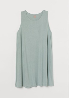 H&M H & M - H & M+ Jersey Tunic - Turquoise