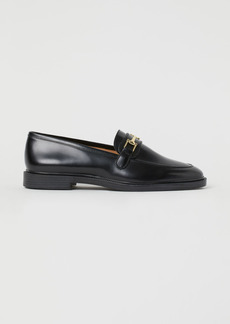 H&M H & M - Leather Loafers - Black