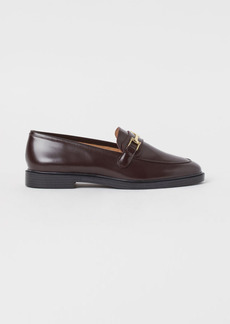 H&M H & M - Leather Loafers - Red