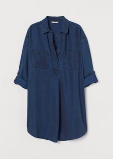 H&M H & M - Lyocell Tunic - Blue