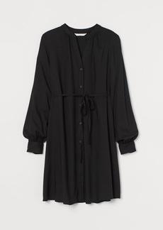 H&M H & M - MAMA V-neck Tunic - Black