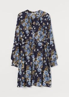H&M H & M - MAMA V-neck Tunic - Blue