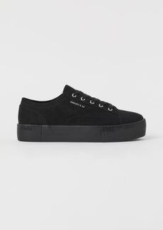 H&M H & M - Platform Sneakers - Black
