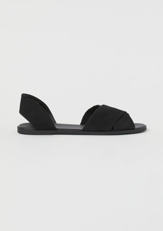 H&M H & M - Sandals - Black