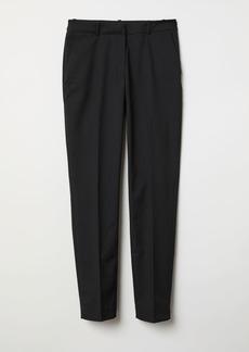 H&M H & M - Suit Pants - Black