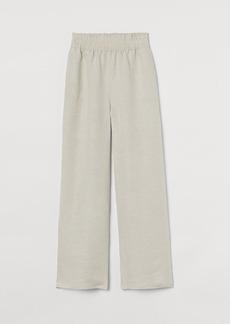 H&M H & M - Wide-cut Pants - Beige