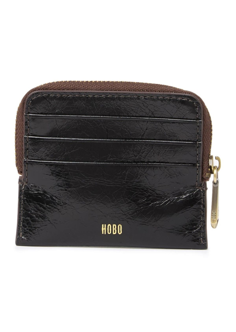 Hobo International Ease Croc Embossed Leather Zip Pouch