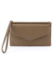Hobo International Pocket Leather Wristlet
