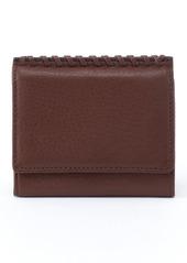 Hobo International Stitch Leather Credit Card Case