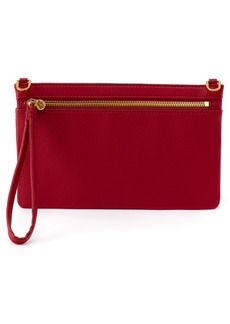 Hobo International Women's Hobo Day Leather Wristlet - Red