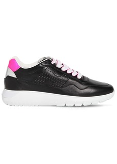 Hogan 30mm H371 Interactive3 Leather Sneakers