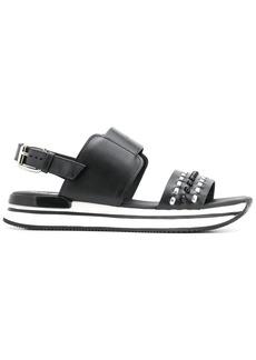 Hogan embellished flat sandals