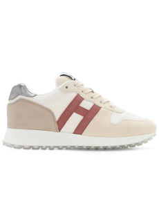 Hogan H429 Leather & Mesh Sneakers