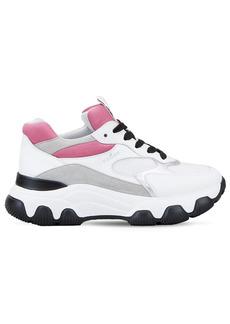 Hogan H540 Mesh & Leather Sneakers