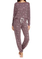 Honeydew Intimates Star Seeker Brushed Jersey Pajamas