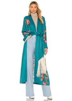 House of Harlow 1960 x REVOLVE Maxi Robe With Fringe