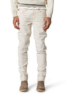Hudson Jeans Axl Ripped Skinny Jeans (Washed White)