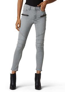 Hudson Jeans Barbara High Waist Ankle Skinny Jeans (Cloudy Sky)