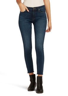 Hudson Jeans Nico Raw Hem Ankle Skinny Jeans (Part Time)