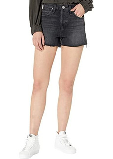 Hudson Jeans Lori High-Rise Cutoffs Shorts in Tainted Love