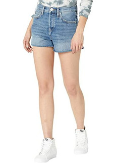 Hudson Jeans Lori High-Rise Cutoffs Shorts in Wonderwall