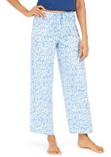Hue Cotton Temp Tech Animal-Print Pajama Pants