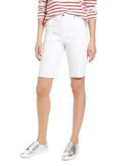 Hue High Waist Bermuda Shorts