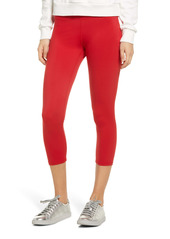 Hue Women's Active Cool Breeze Pocket Capri Performance Leggings