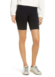 Hue Women's Active Pep Talking Pocket Performance Bike Shorts