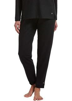 Hue Solid Cuffed Lounge Pants w/ Pockets