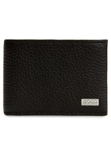 Hugo Boss BOSS Crosstown 6 Card Leather Wallet