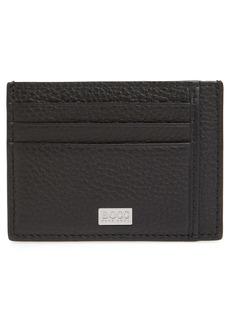 Hugo Boss BOSS Crosstown Leather Card Case