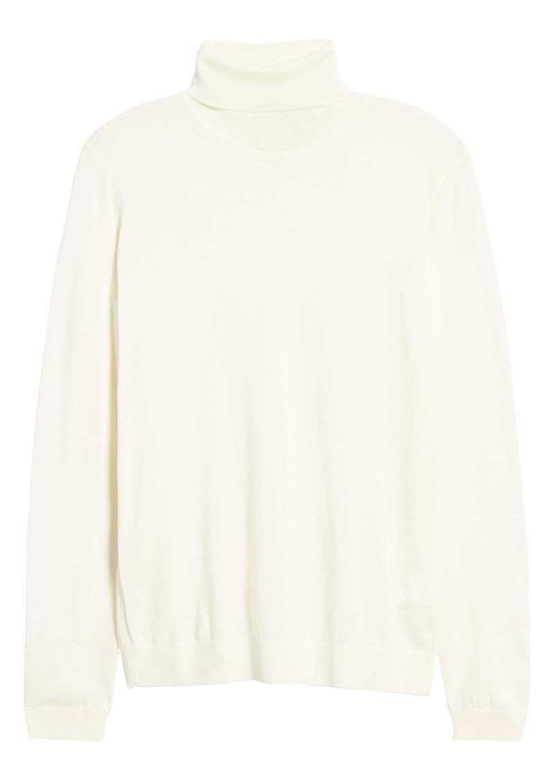 Hugo Boss BOSS Musso Virgin Wool Turtleneck Sweater
