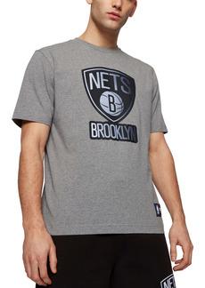 Hugo Boss BOSS x NBA Tbasket Brooklyn Nets Embossed Logo Graphic Tee